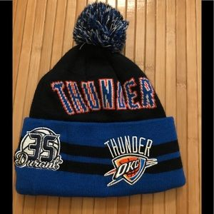 New Era OKC Thunder Knit Pom Hat